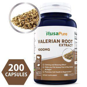 NusaPure Best Valerian Root