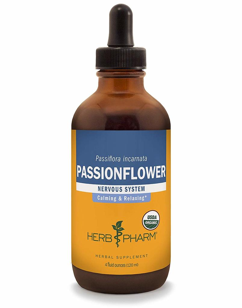 Herb Pharm Certified Organic Passionflower