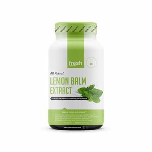 Fresh Nutrition Lemon Balm Extract