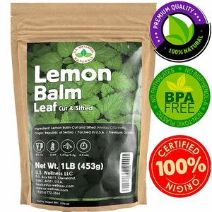 U.S. Wellness Naturals Lemon Balm Tea