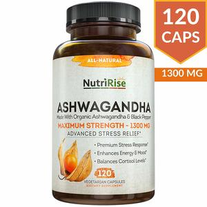 NutriRise Organic Ashwagandha Root