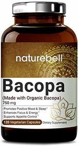 NatureBell Organic Bacopa Monnieri