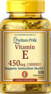 Puritan's Pride Vitamin E 1000 IU Softgels